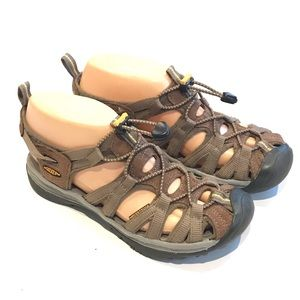 Keen Sandals Boys Size 6 Water Sandal Brown